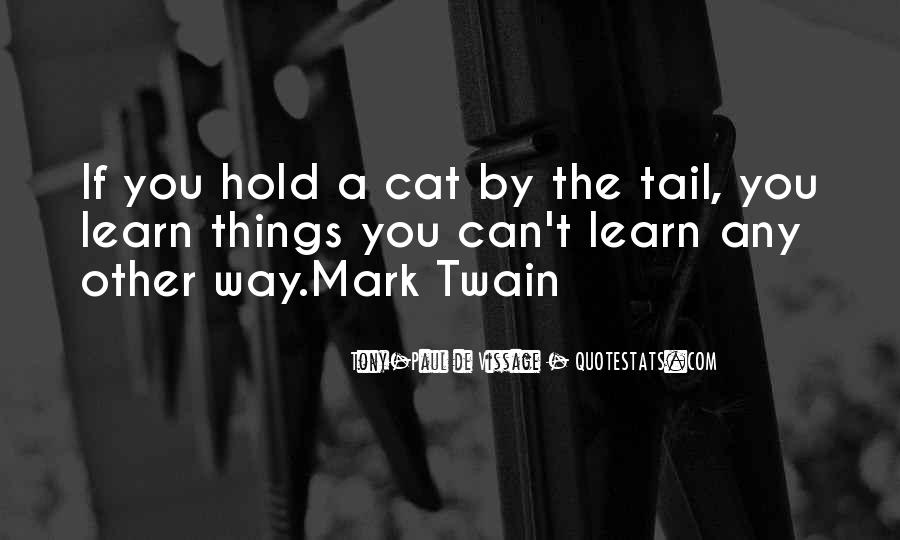 Quotes About Cats Mark Twain #574364
