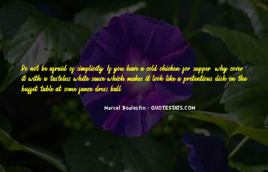 Marcel Boulestin Quotes #1501117