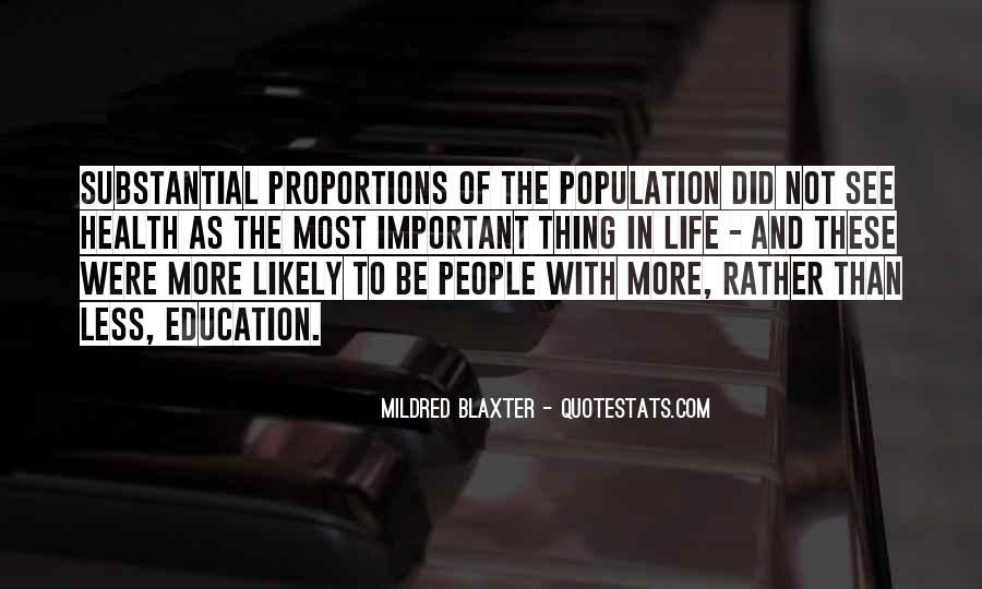 Quotes About Population Health #1372987