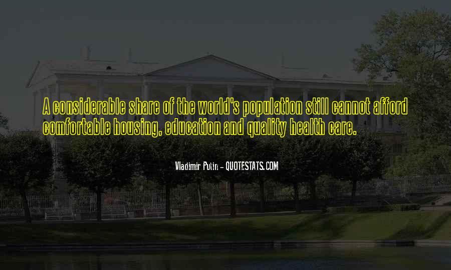 Quotes About Population Health #1858696