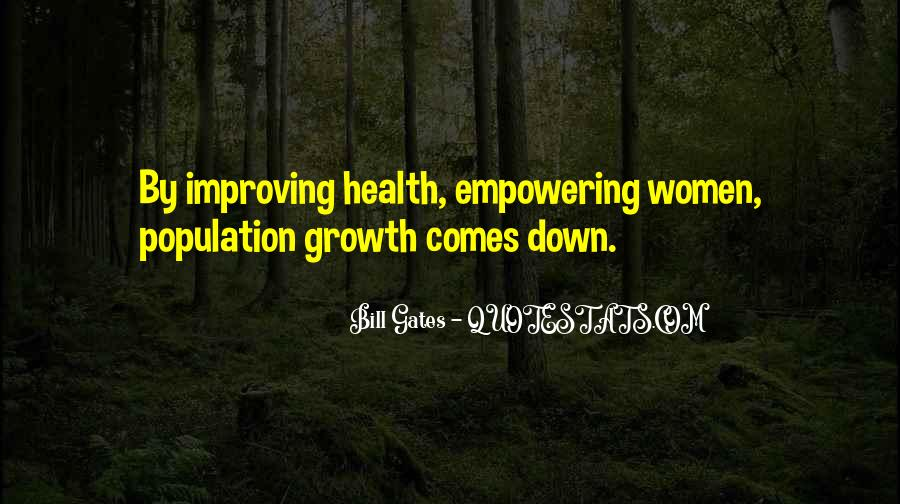 Quotes About Population Health #487316