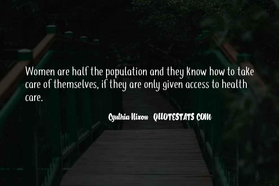 Quotes About Population Health #516193