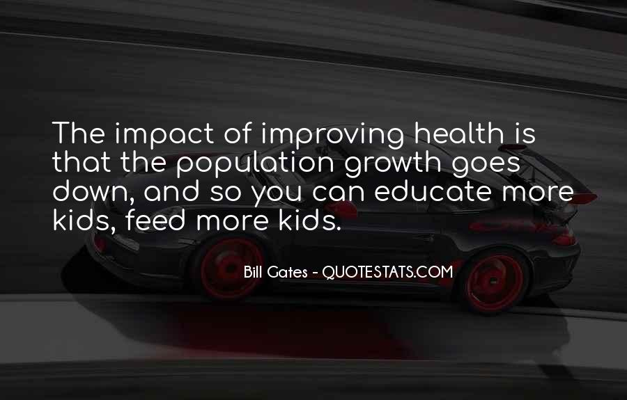 Quotes About Population Health #602071