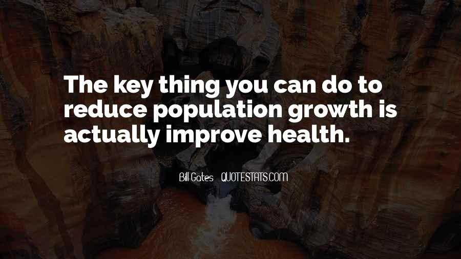 Quotes About Population Health #635989