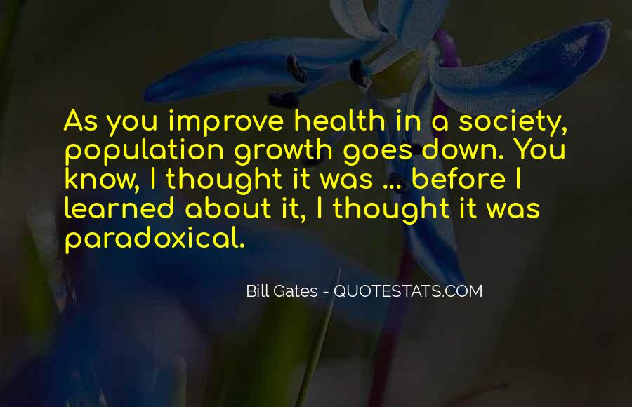 Quotes About Population Health #867454