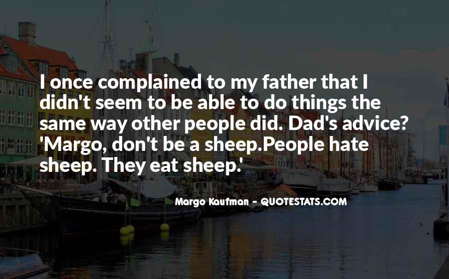 Margo Kaufman Quotes #247945