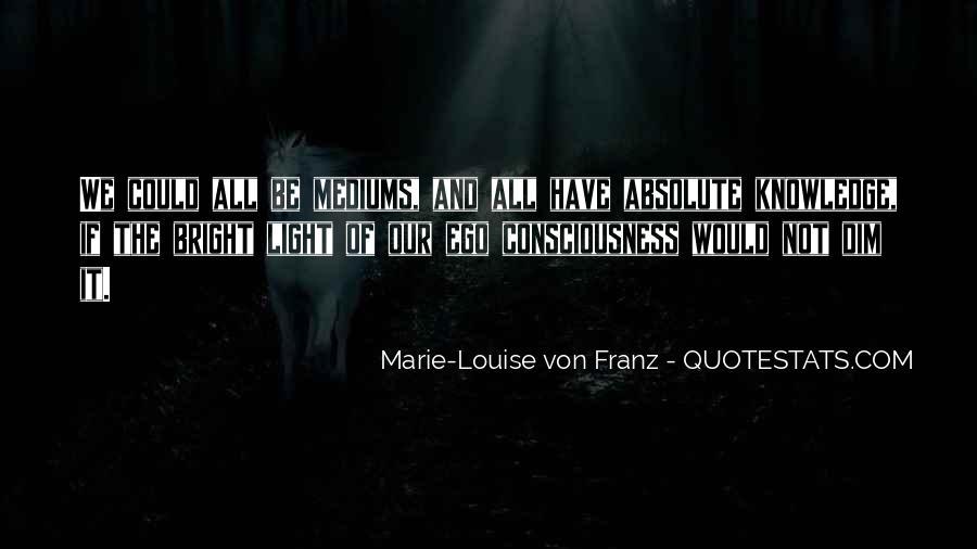 Marie Louise Von Franz Quotes #1123846