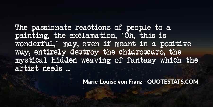 Marie Louise Von Franz Quotes #1277890