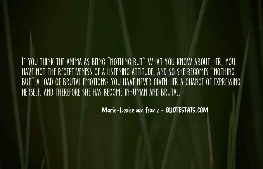 Marie Louise Von Franz Quotes #1618882