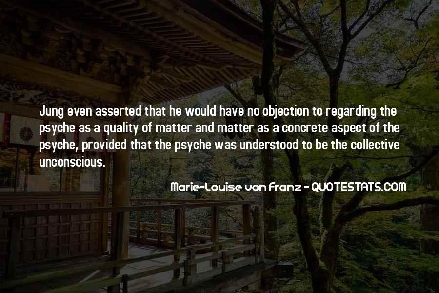 Marie Louise Von Franz Quotes #1750856