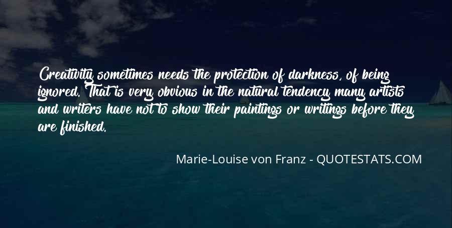 Marie Louise Von Franz Quotes #1857632