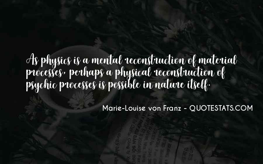 Marie Louise Von Franz Quotes #221962