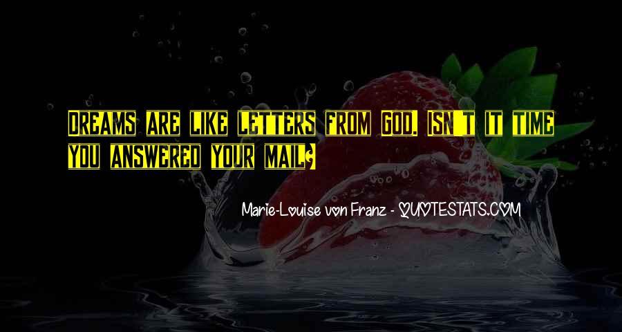 Marie Louise Von Franz Quotes #310037