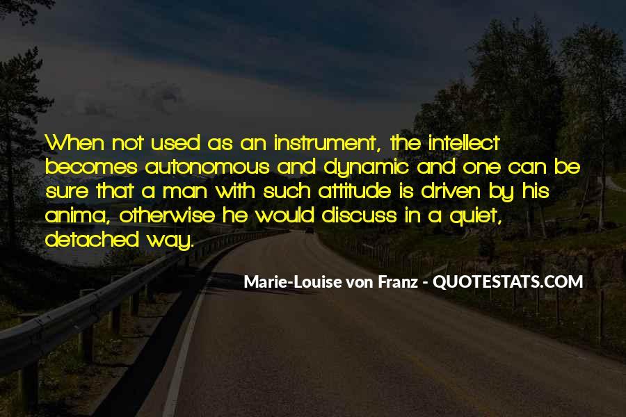 Marie Louise Von Franz Quotes #548103