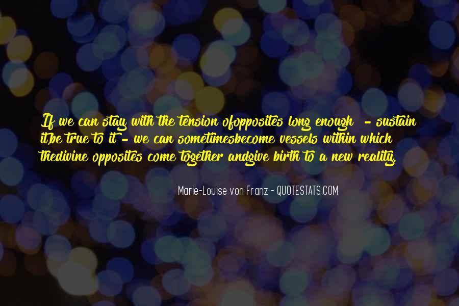 Marie Louise Von Franz Quotes #568633