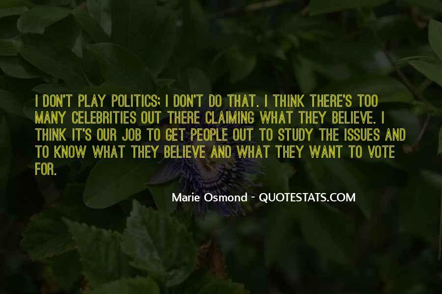 Marie Osmond Quotes #1036131