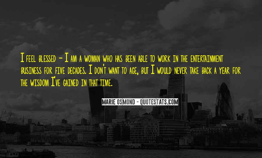 Marie Osmond Quotes #1125199