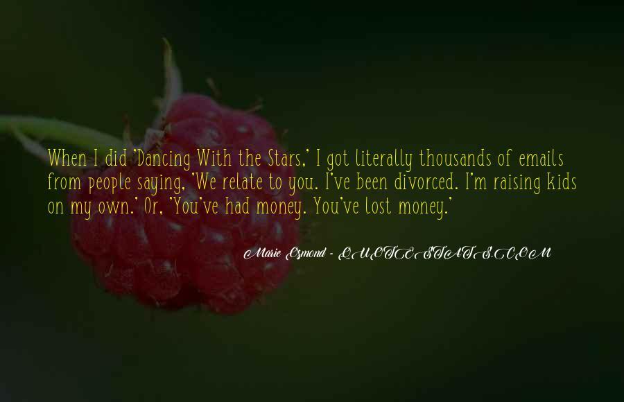 Marie Osmond Quotes #1353653