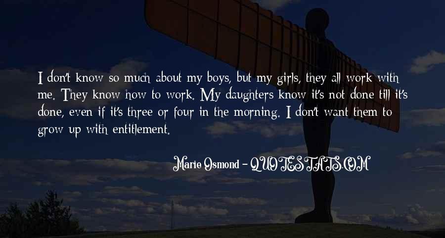 Marie Osmond Quotes #1451712