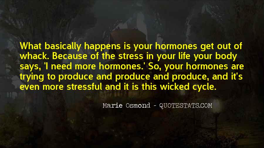 Marie Osmond Quotes #471421