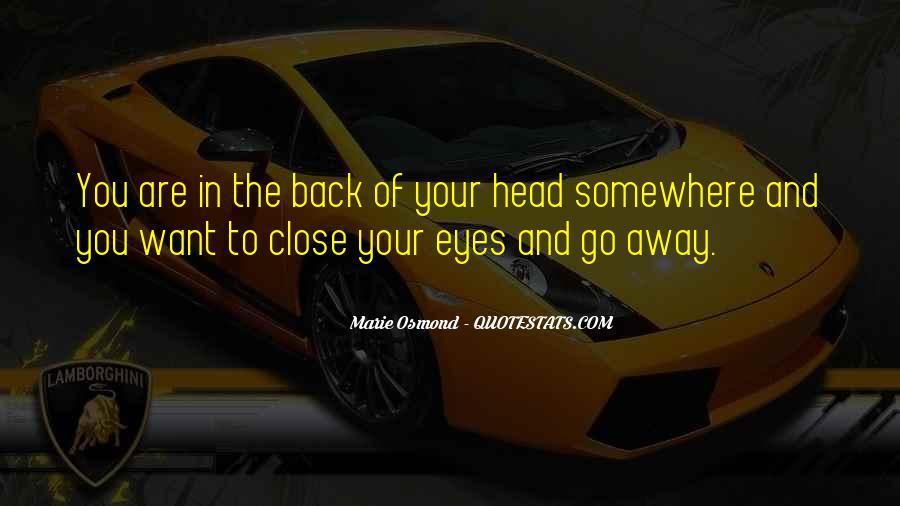 Marie Osmond Quotes #504225