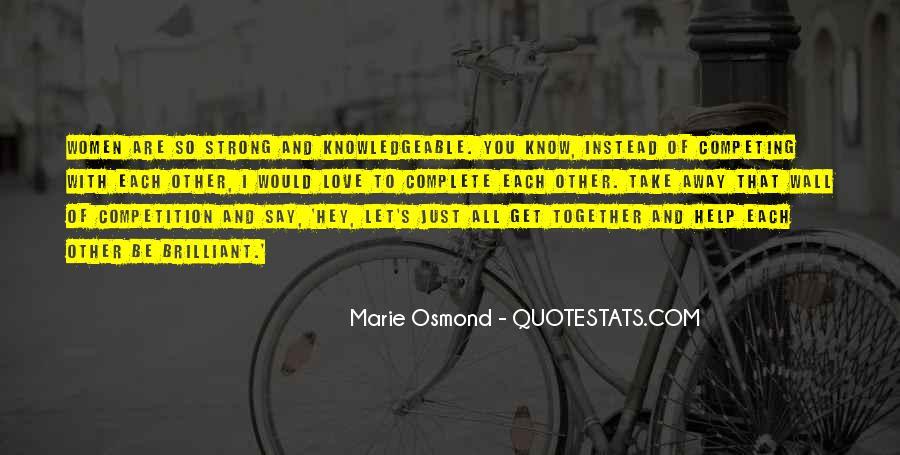 Marie Osmond Quotes #573991