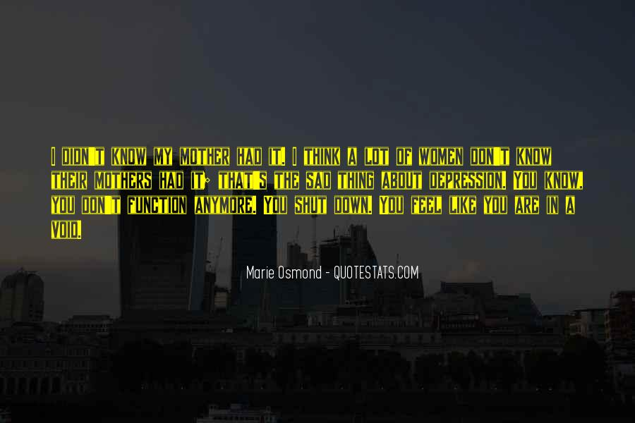 Marie Osmond Quotes #579663