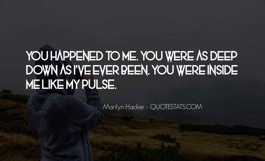 Marilyn Hacker Quotes #1171802