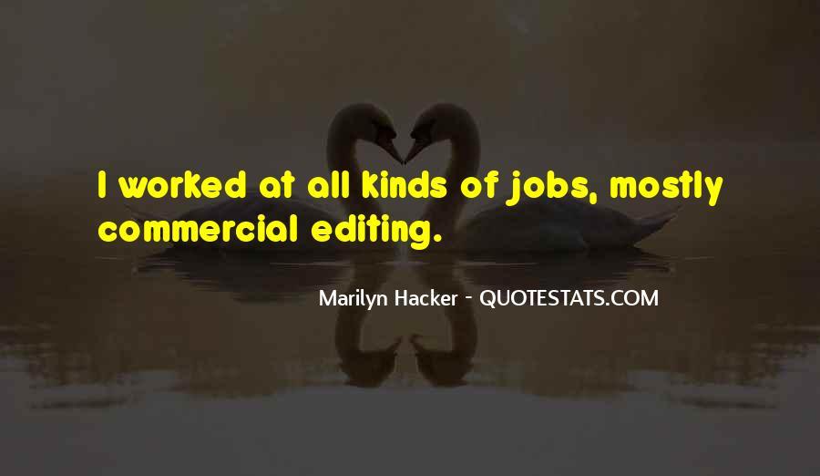 Marilyn Hacker Quotes #1204737