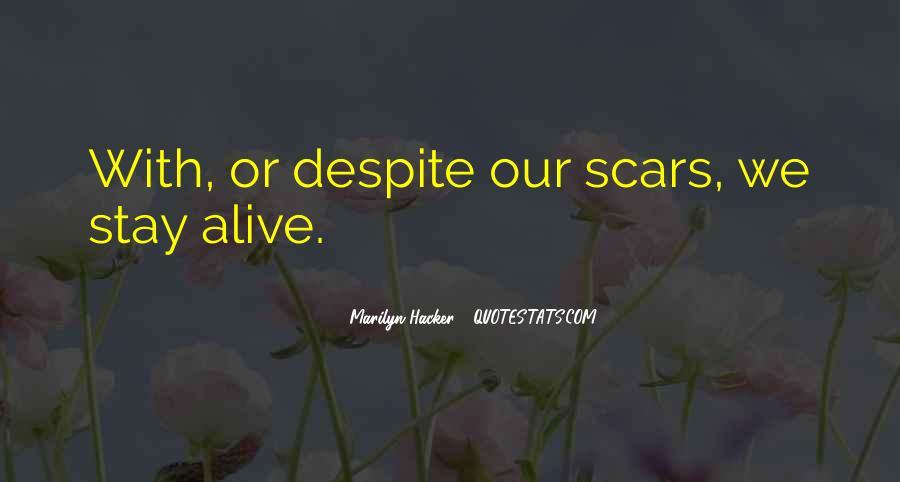 Marilyn Hacker Quotes #1819077