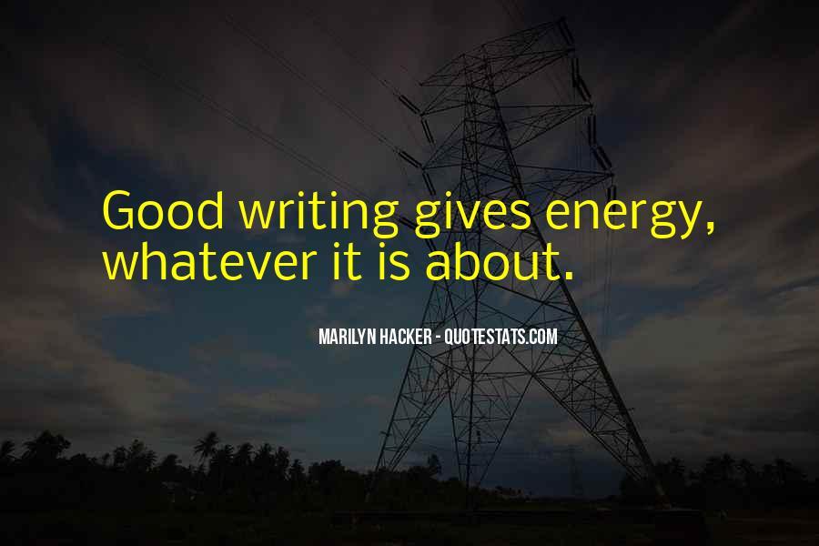 Marilyn Hacker Quotes #282719