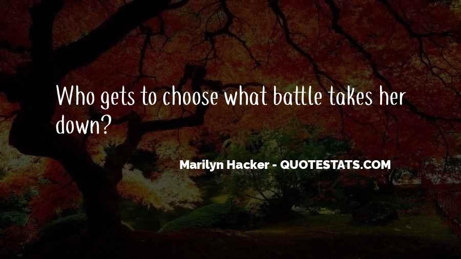 Marilyn Hacker Quotes #46794