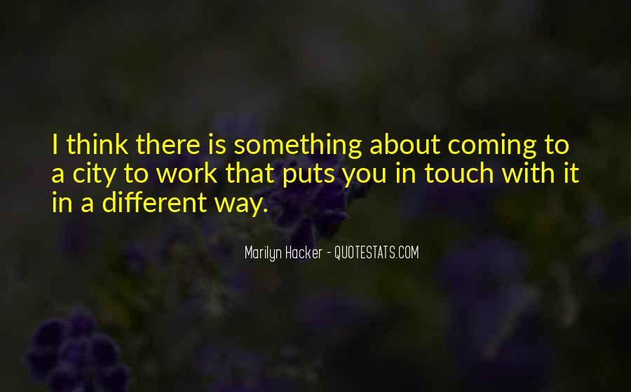 Marilyn Hacker Quotes #488847