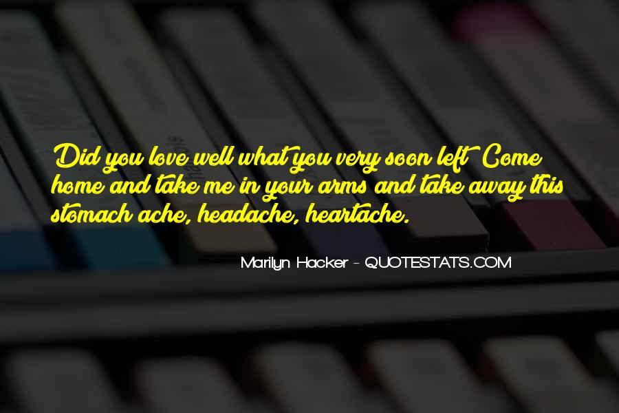 Marilyn Hacker Quotes #635097