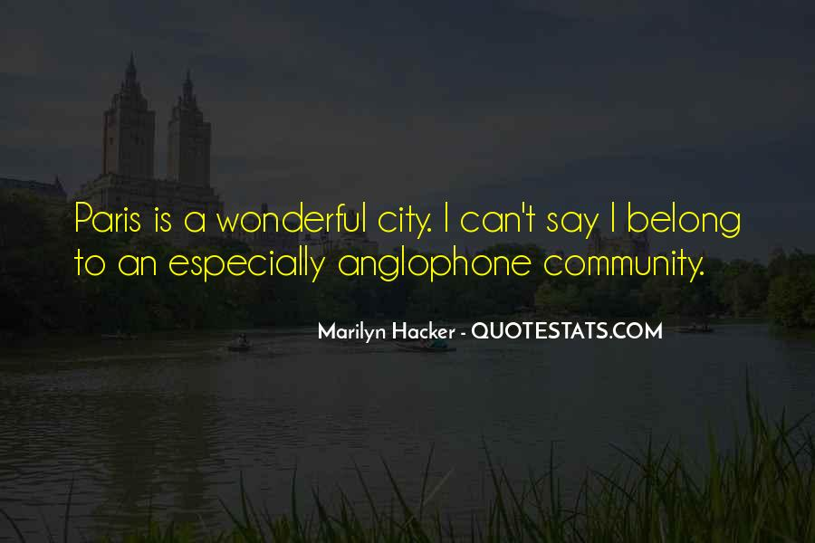 Marilyn Hacker Quotes #718475