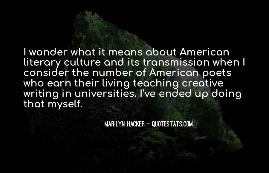 Marilyn Hacker Quotes #73258