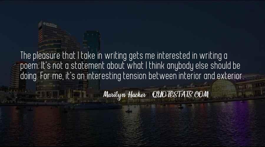 Marilyn Hacker Quotes #835918