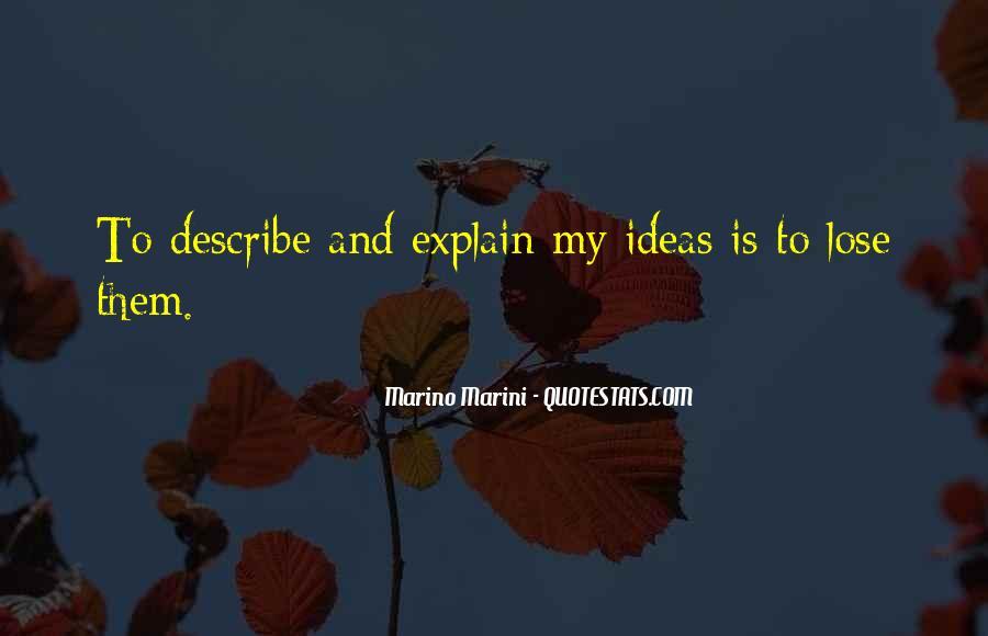 Marino Marini Quotes #351730