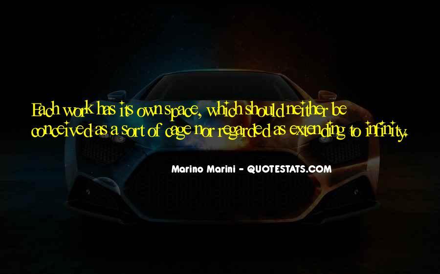 Marino Marini Quotes #910264