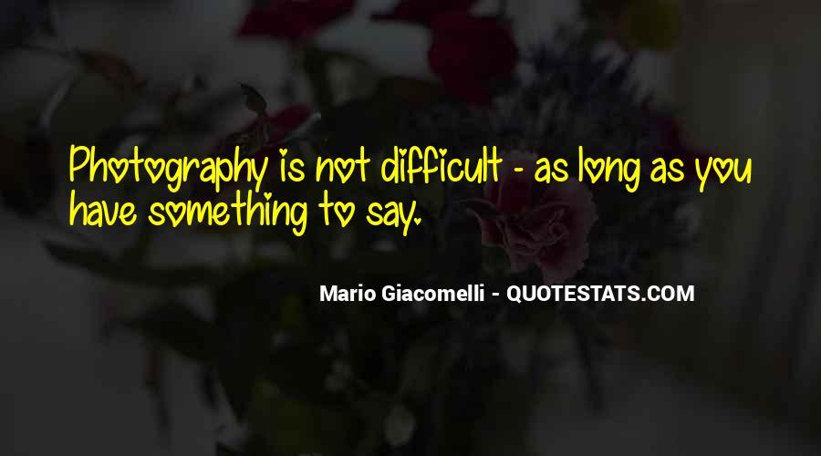 Mario Giacomelli Quotes #504095