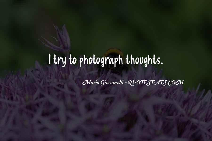 Mario Giacomelli Quotes #510856