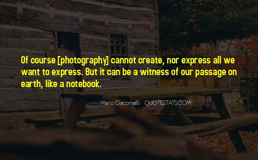 Mario Giacomelli Quotes #527155