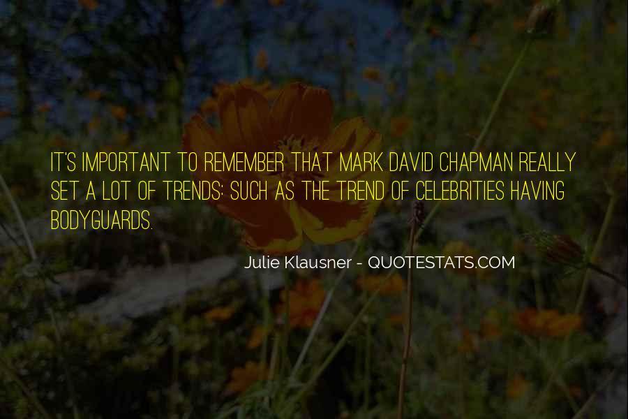 Mark Chapman Quotes #1346886