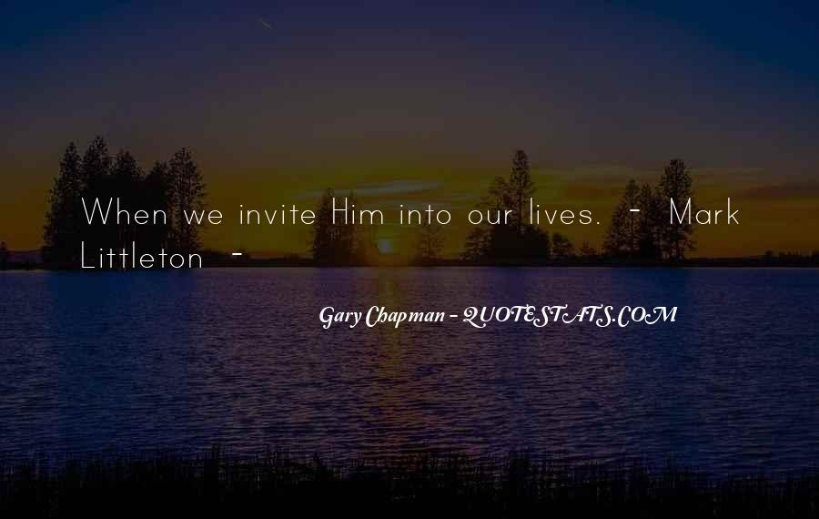 Mark Chapman Quotes #1387149