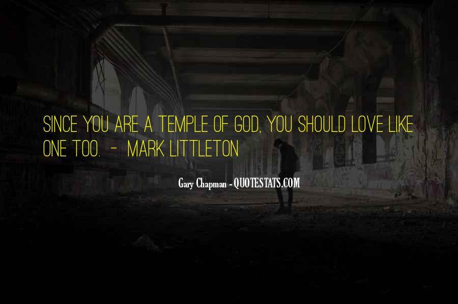 Mark Chapman Quotes #1597062