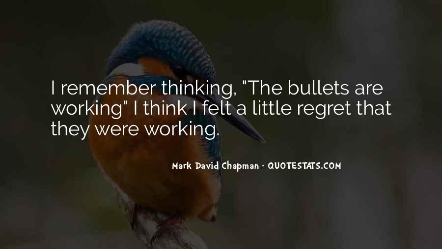 Mark Chapman Quotes #285709