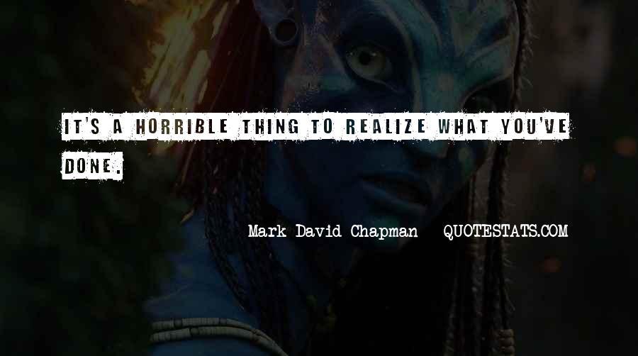 Mark Chapman Quotes #71287