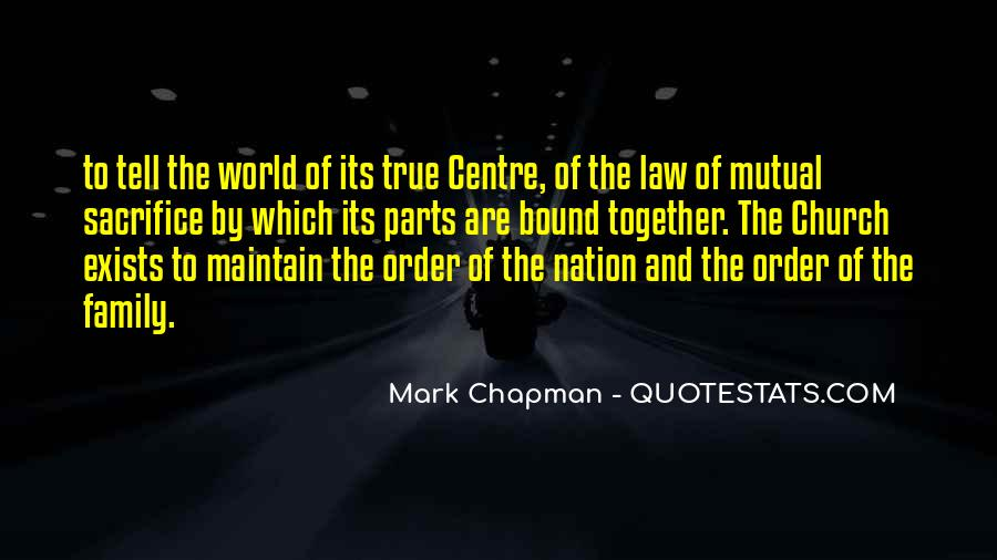 Mark Chapman Quotes #748060