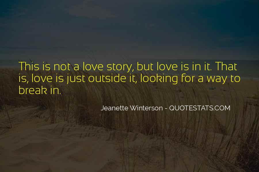 Quotes About Love After Break Ups #125273