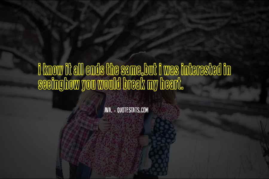 Quotes About Love After Break Ups #191495